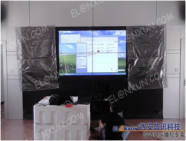 西安市公交公司调度中心液晶大屏幕拼接系统项目