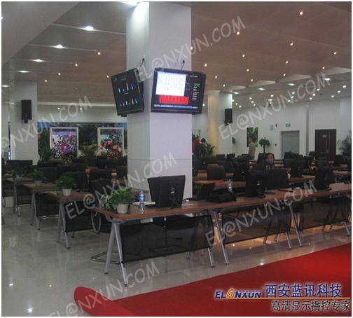 中国•洛川国际苹果会展中心引进西安蓝讯多媒体信息发布系统