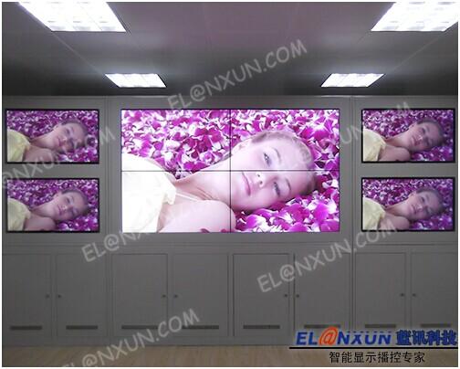 长安区校车管理中心部署西安蓝讯46英寸高亮LED背光液晶拼接屏