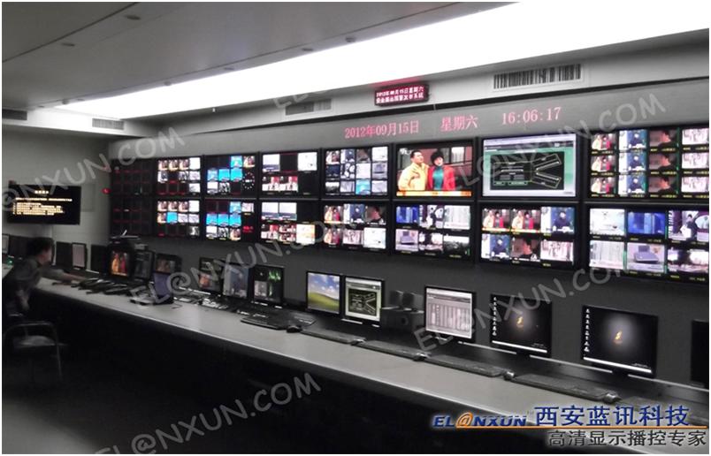 广播电视台信息展示系统引进西安蓝讯多媒体信息发布系统