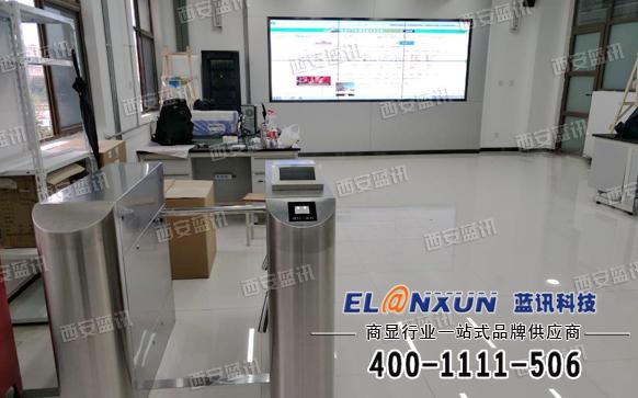 西安职业技术学校多功能演示大厅大屏拼接系统