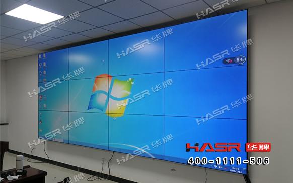 庆阳石化液晶拼接屏系统