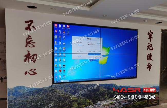 宝鸡凤翔村委会党建室液晶大屏幕项目