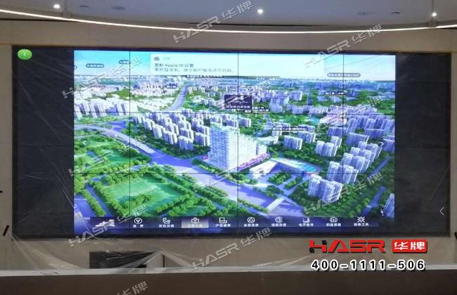 天谷雅舍售楼中心55寸液晶拼接屏项目