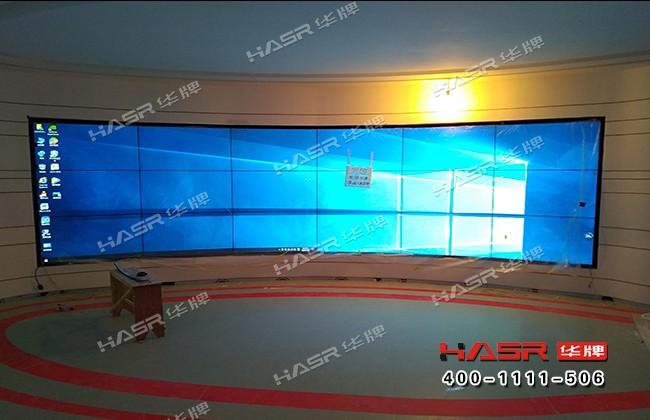 雁塔住建局55寸液晶拼接屏项目