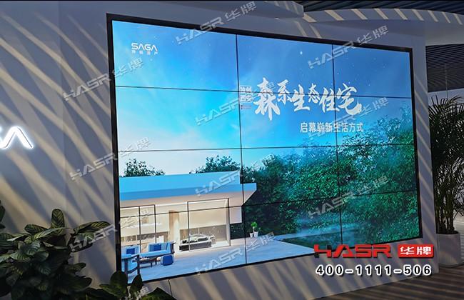 赛格国际46寸4X3液晶拼接屏项目