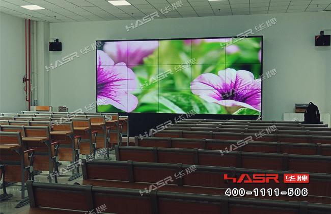 天水林业职业技术学院55寸三星拼接屏项目