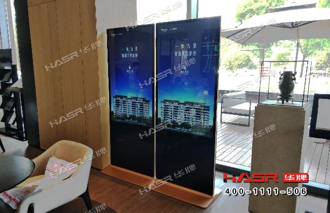 曲江九里售楼部55寸立式X86触摸一体机项目