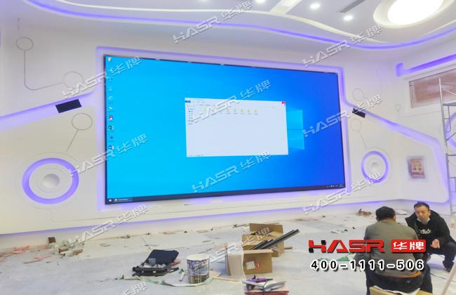 新疆农科院55寸拼接屏项目