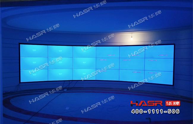 雁塔红色展厅46寸拼接屏项目